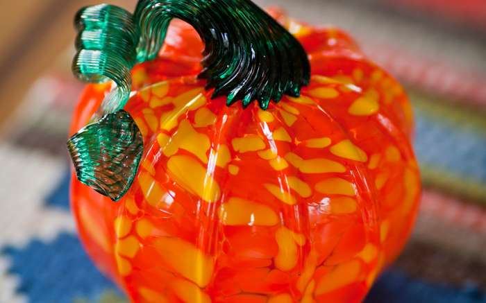 Make Your Own Glass Pumpkin