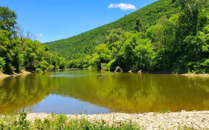 Canisteo River Rathbone Boat Launch