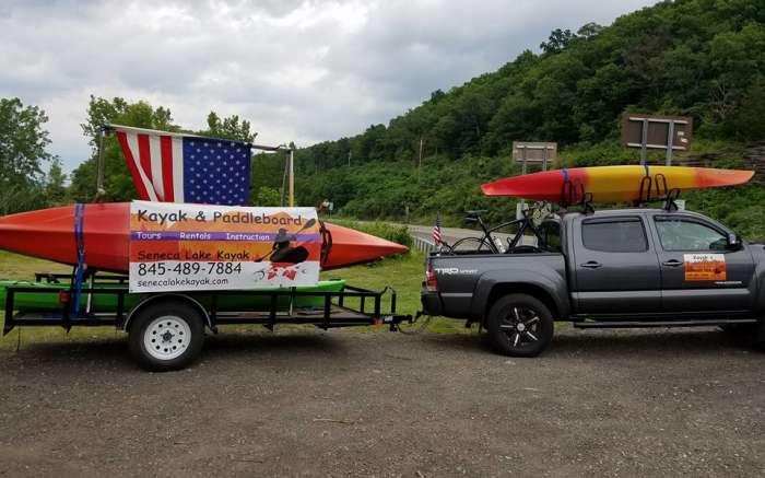 Seneca Lake Kayak