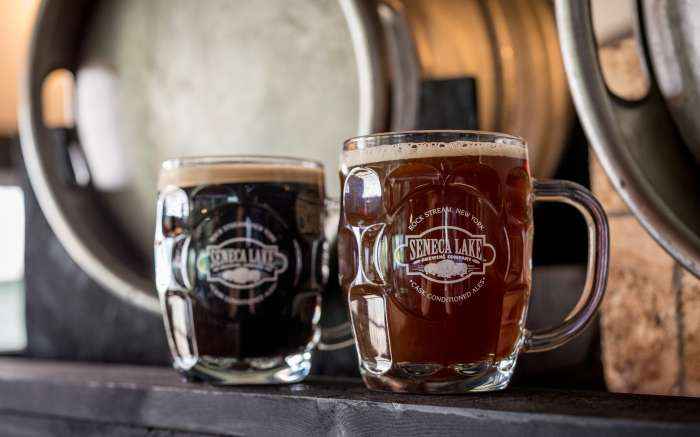 Seneca Lake Brewing glasses
