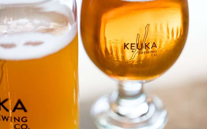 Keuka Beer Glass