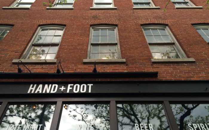 Hand + Foot building exterior