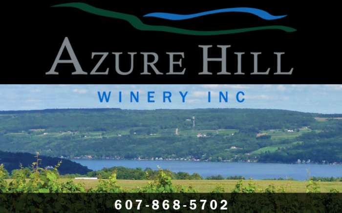 Azure Hill Winery, Inc., view