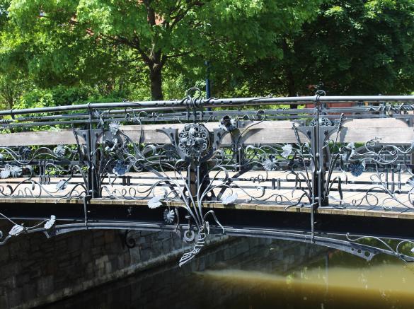 Image result for iron bridge carroll creek park