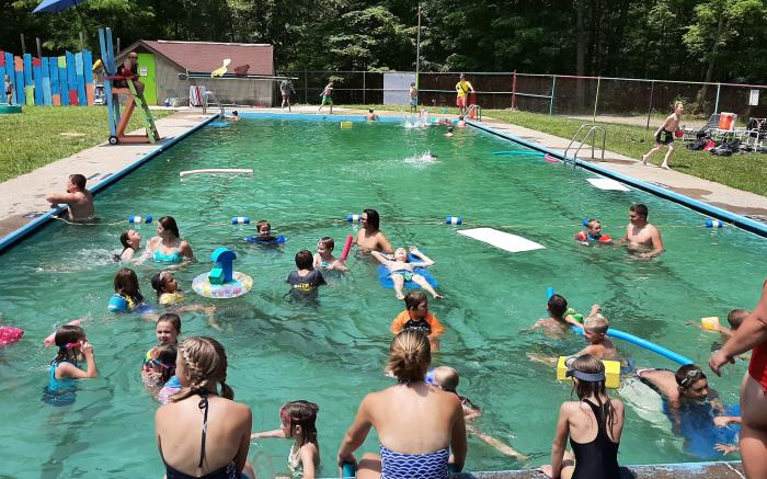 Swimming @ Camp Harmony