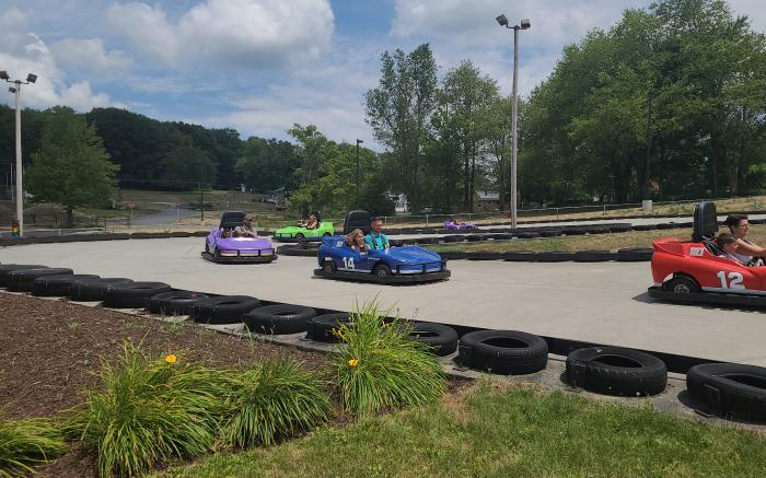 Thrills, Excitement, & Family Fun! Featuring three Go Kart Tracks for your enjoyment!