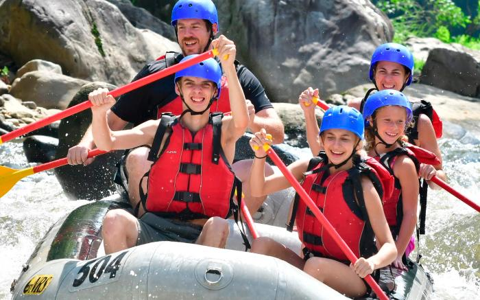 Lower Yough Rafting