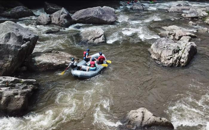 Upper Yough Class V Rafting Adventureous