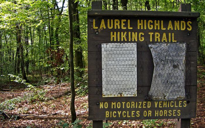 Laurel Highlands Hiking Trail