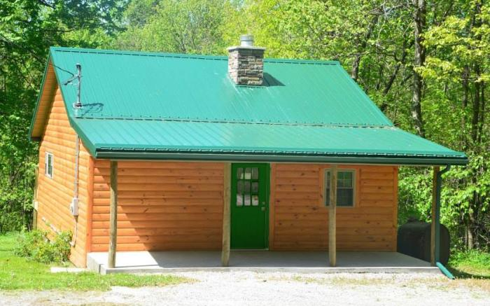 Two Cabins in the Woods