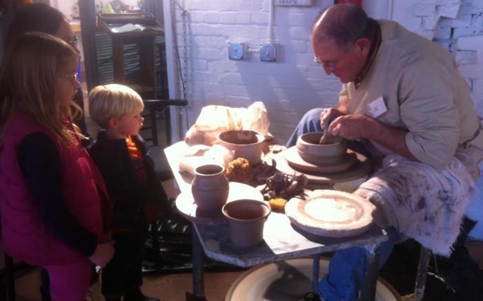 Pottery at Bottleworks