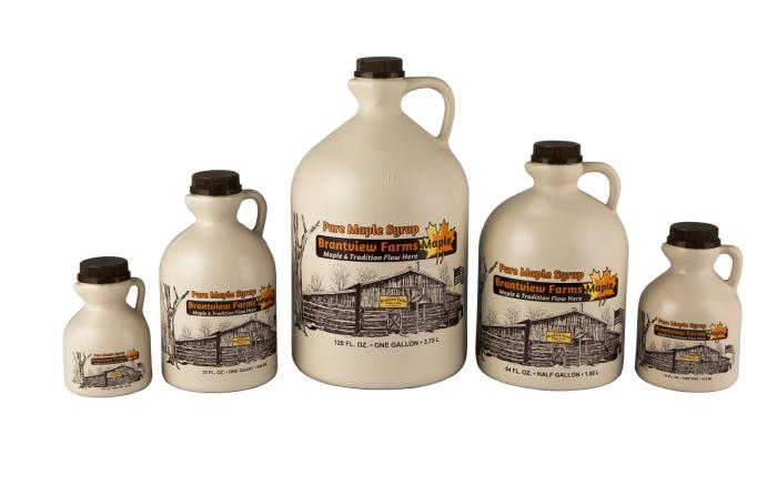 Brantview Farms Maple 100% Pure Maple Syrup