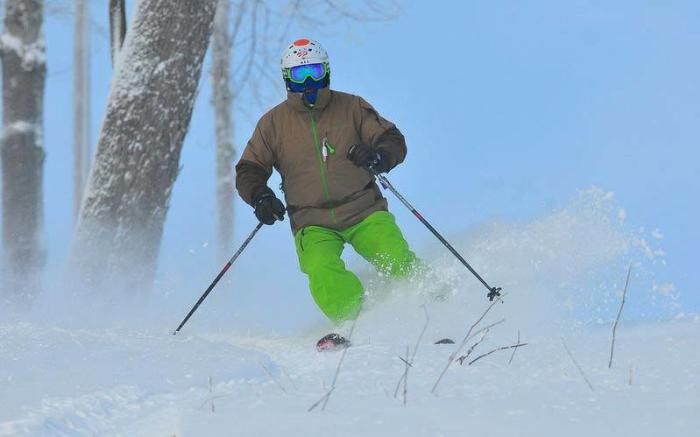 Powder day at Seven Springs Mountain Resort