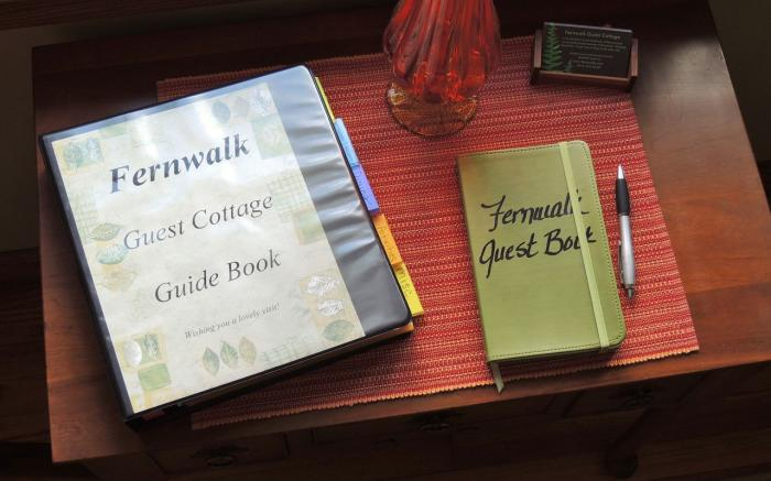 Guide Book and Guest Book