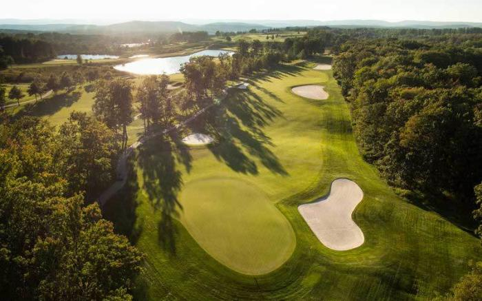 PA Golf - Pennsylvania Golf Resorts - Nemacolin Woodlands Resort