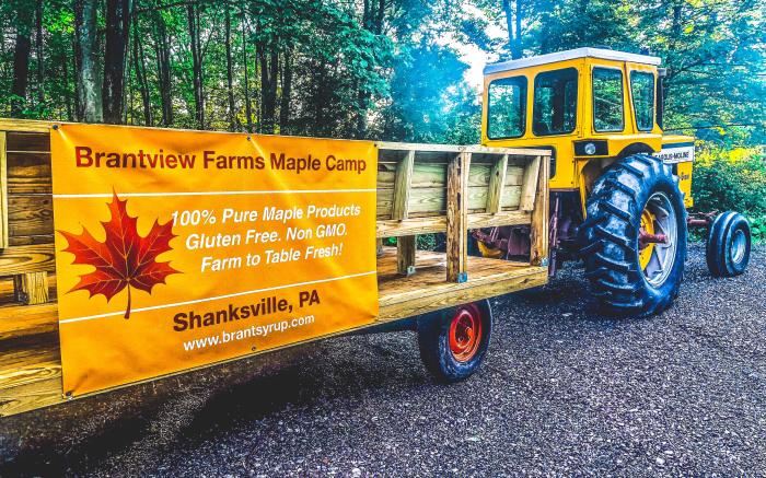 Brantview Farms Maple Wagon