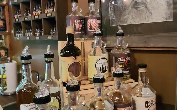 Tall Pines Distillery Moonshine