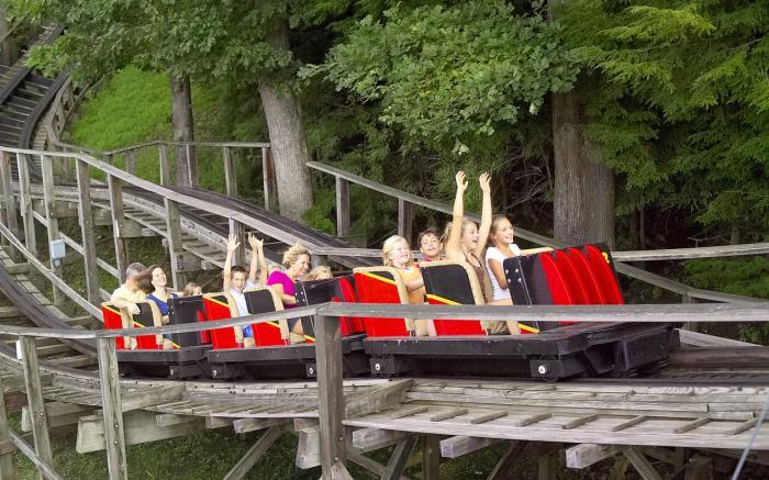Idlewild Park (Rollo Coaster)