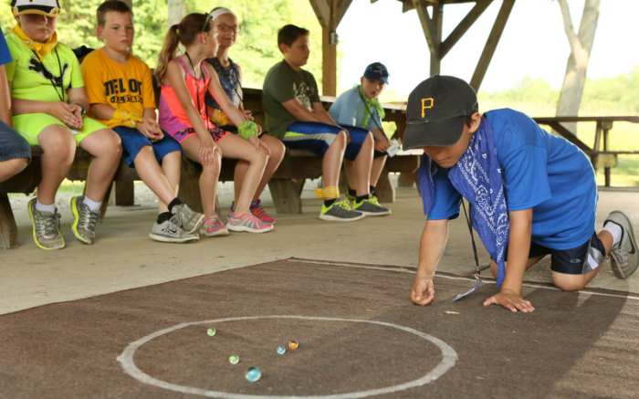 HHT camp marbles