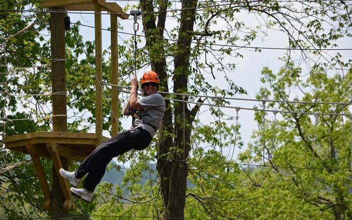 Ohiopyle Zip Line Adventure Park - LHRT
