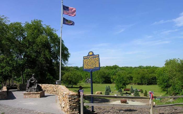 Quecreek Mine Rescue Site Overlook