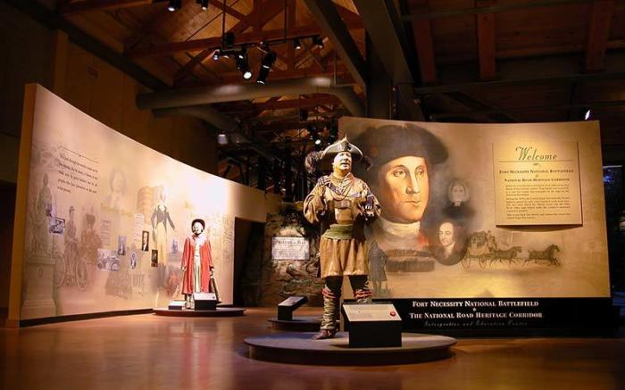 Fort Necessity National Battlefield Visitor Center