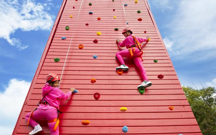 Nemacolin - Climbing Wall
