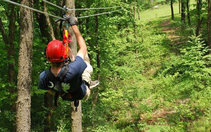 Zip Lines & Canopy Tours at Seven Springs