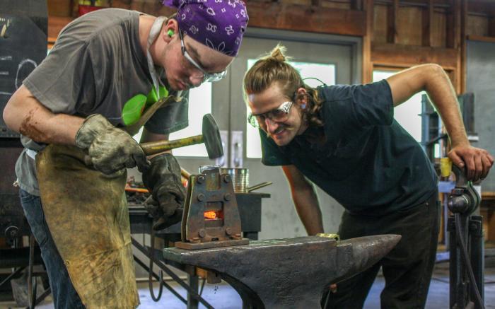 Blacksmithing Studio