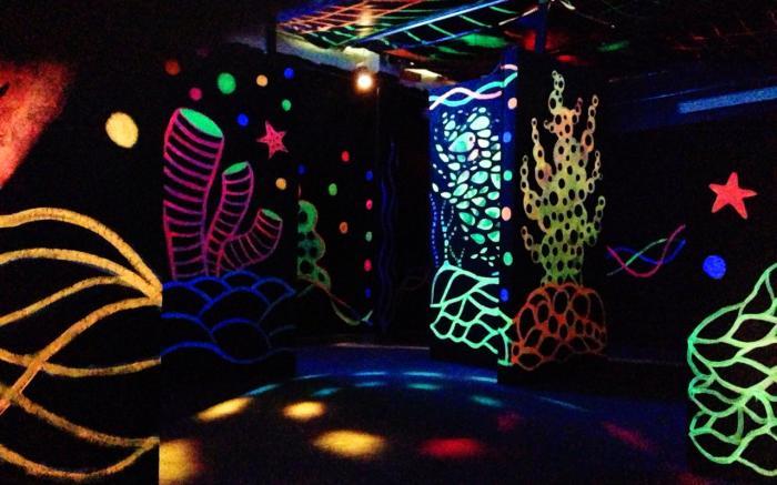 SeaBase laser tag room