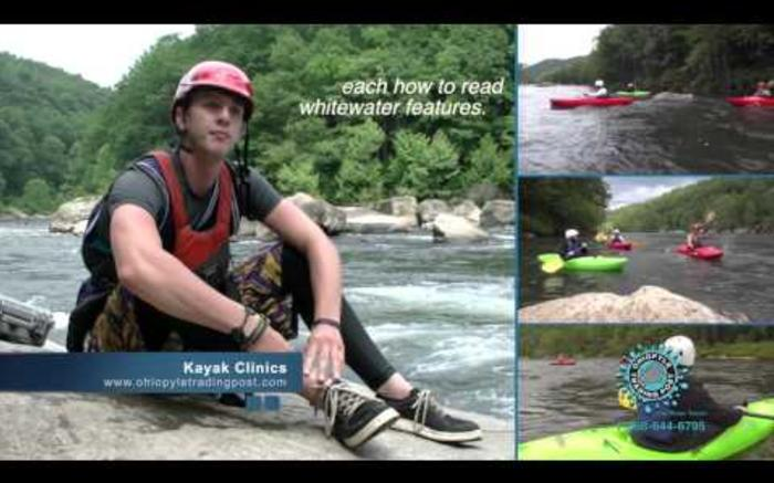 Ohiopyle Kayak Clinics on the Yough with Ohiopyle Trading Post and River Tours
