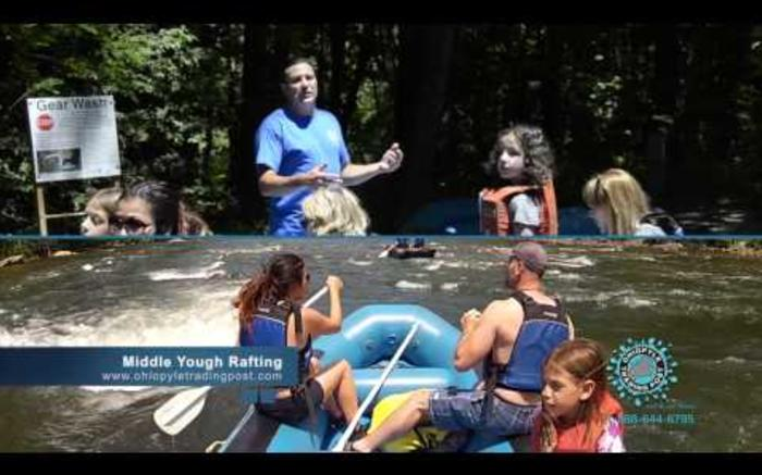 Rafting on the Middle Yough with Ohiopyle Trading Post and River Tours