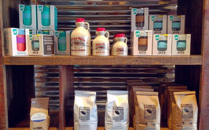 Retail Coffee - come grab a bag today! Local products+the best gear we can find!