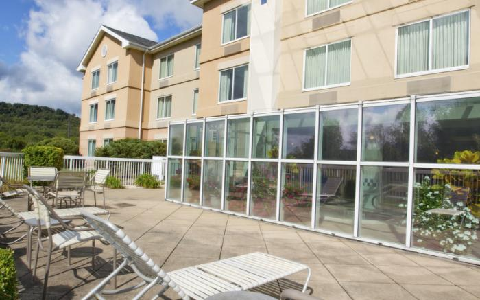 Hotel/Rear Exterior Patio