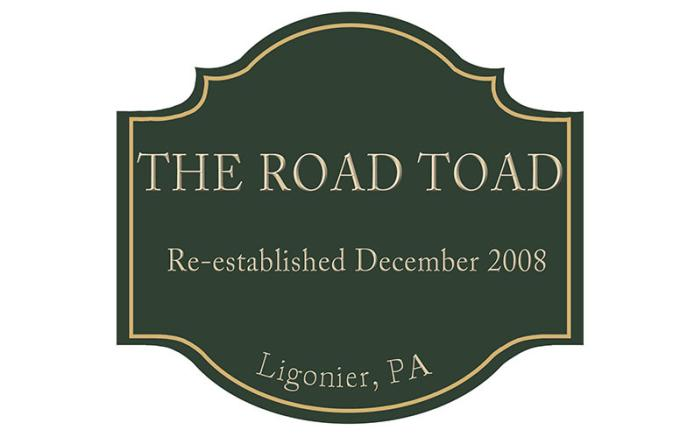 The Road Toad Logo
