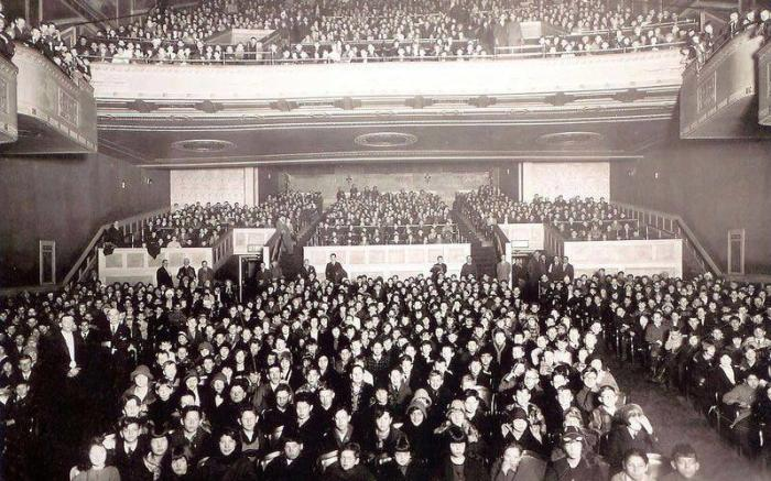 1922 First Audience