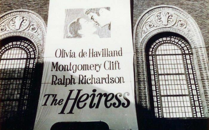 Movie Signage The Heiress