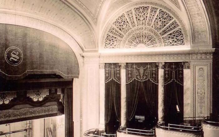 1922 Original Box Seats