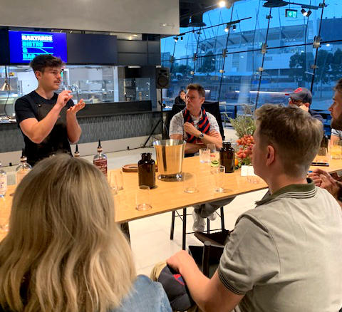 Melbourne and Olympic Parks gin masterclass