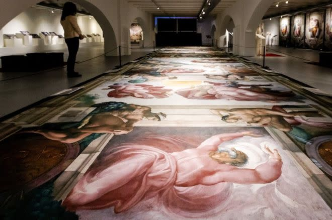 Sistine Chapel Exhibit example