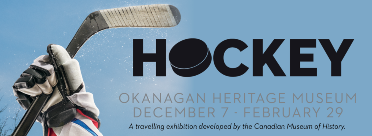Hockey Poster - Kelowna Museums