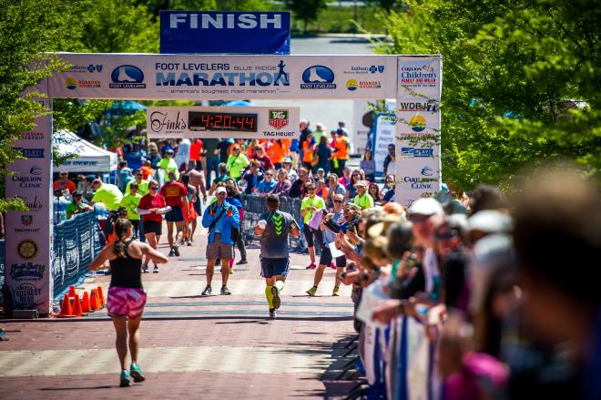 Blue Ridge Marathon - Roanoke, Virginia