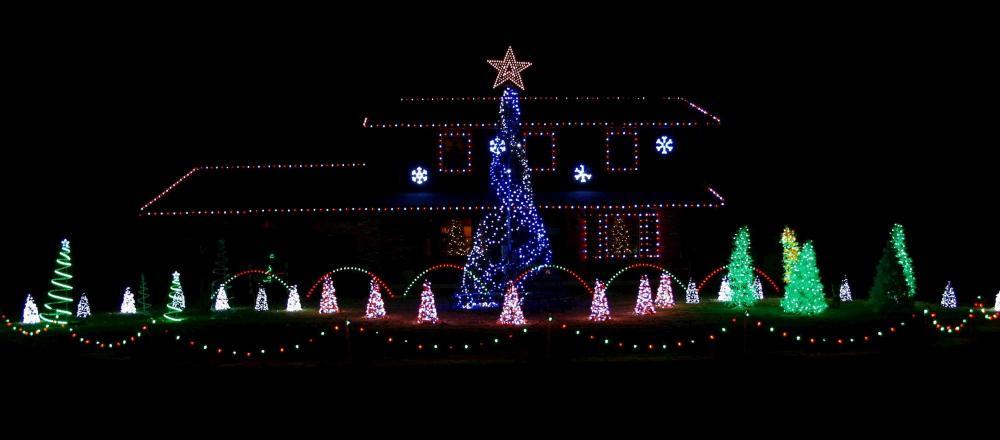 Honn Family Christmas Lights