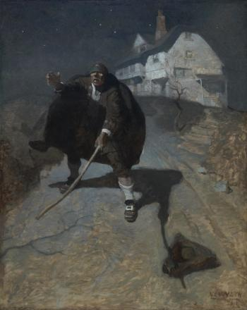 NC Wyeth - Tapping up and down the road in a frenzy