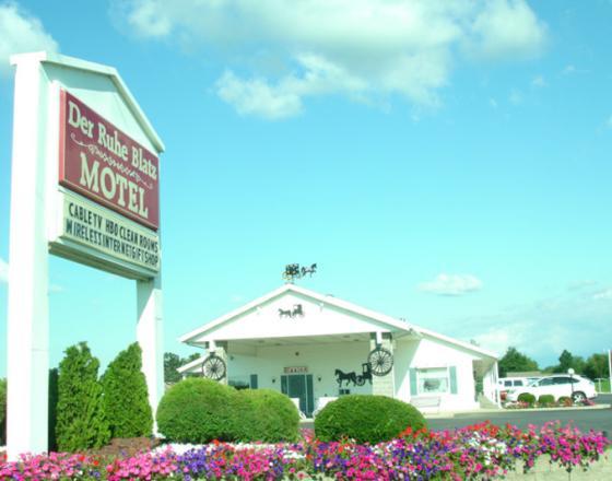 Der Ruhe Blatz Motel Shipshewana
