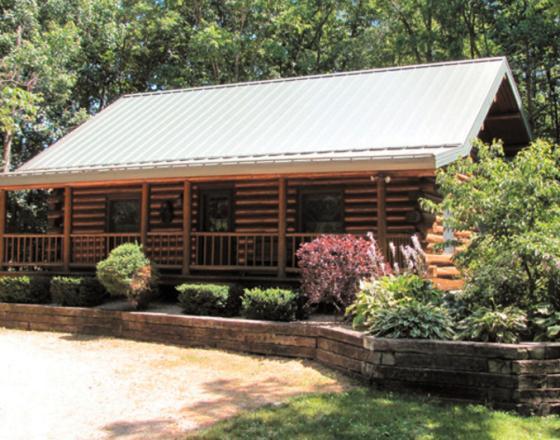 Log Cabin Hideaway