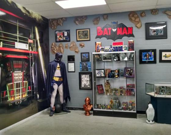 HALL OF HEROES COMIC AND SUPERHERO MUSEUM