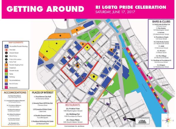 PrideFest Map