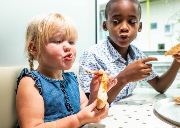 Acorn - Kids Eating