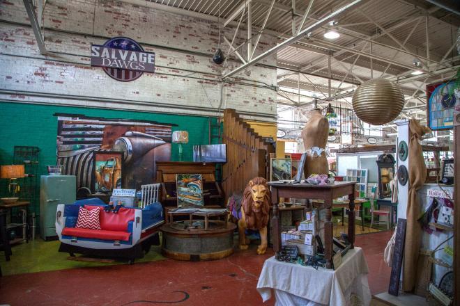 Black Dog Salvage Warehouse